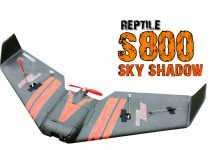 Review Reptile S800 SKY SHADOW Flying Wing