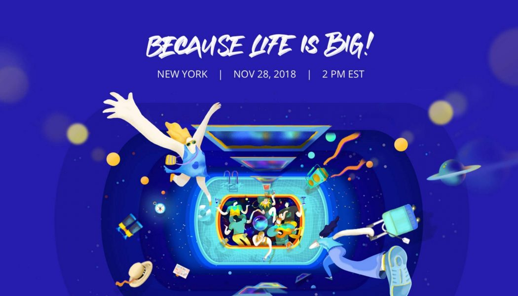 Novo evento da DJI 'Because life is big'. O que teremos desta vez?