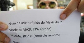 VAZOU o manual do novo Mavic Air 2